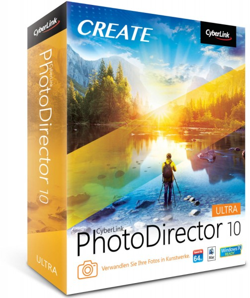 Cyberlink PhotoDirector 10 Ultra, Vollversion