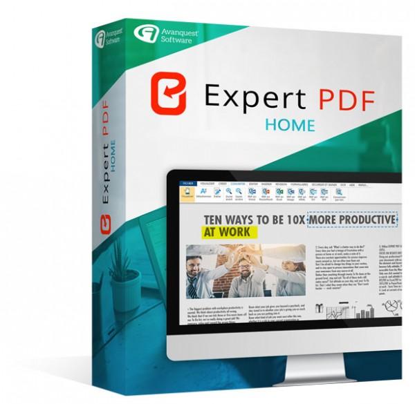 Avanquest Expert PDF 14 Home
