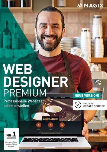 MAGIX Web Designer 15 Premium ESD, Vollversion