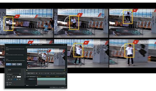 Frame by frame montion tracking.