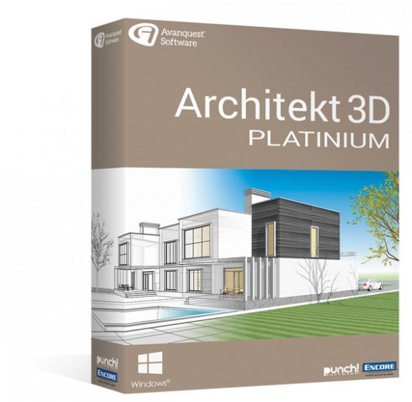 Avanquest Architekt 3D 20 Platinum Windows