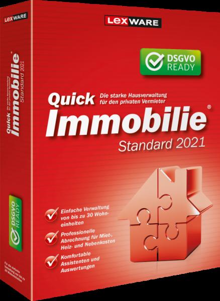 Lexware QuickImmobilie Standard 2021