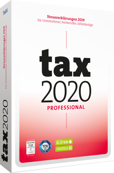 WISO tax 2020 Professional