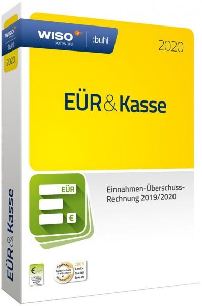 WISO EÜR & Kasse 2020, für die Geschäftsjahre 2019/2020, Win, Box