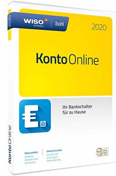 WISO Konto Online 2020 Dauerlizenz Box