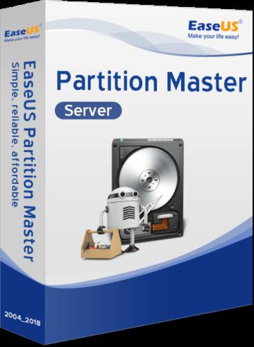 EaseUS Partition Master Server 14.5 Vollversion