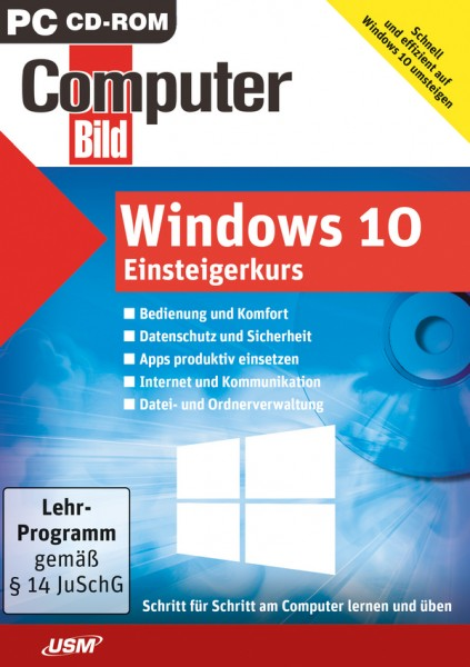 USM ComputerBild Windows 10 Einsteigerkurs