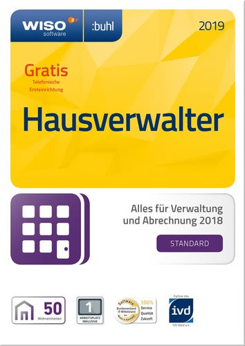 WISO Hausverwalter 2019 Standard, Vollversion