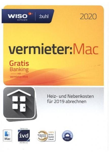 WISO Vermieter:MAC 2020, für das Abrechnungsjahr 2019