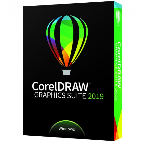 CorelDRAW Graphics Suite 2019, Windows