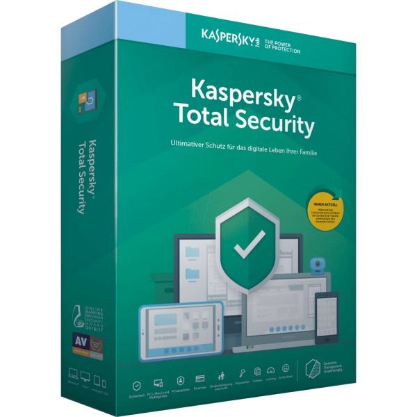 Kaspersky Total Security 2020 Multi Device PC MAC Smartphone Tablet