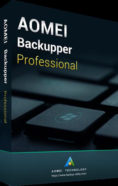 AOMEI Backupper Professional 5.6