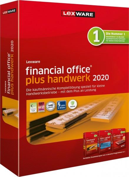 Lexware Financial Office Plus Handwerk 2020, 365 Tage Laufzeit, Download