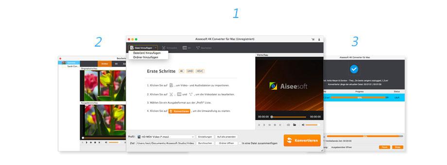 4K-Videos auf Mac konvertieren