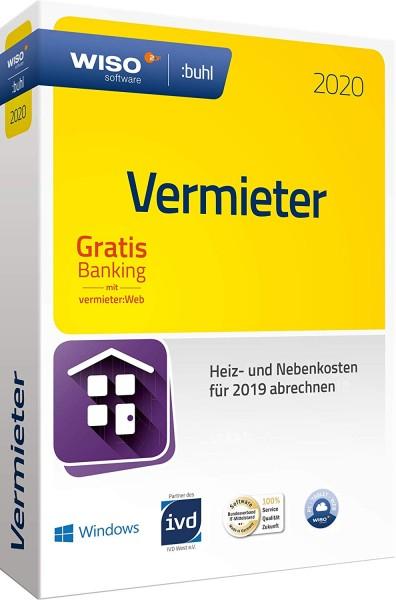WISO Vermieter 2020, für das Abrechnungsjahr 2019, Box