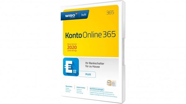 WISO Konto Online Plus 365 (2020), 1 Jahreslizenz, Box