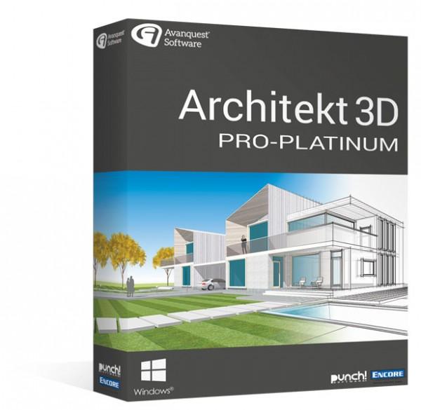 Avanquest Architekt 3D 20 Pro-Platinum Windows