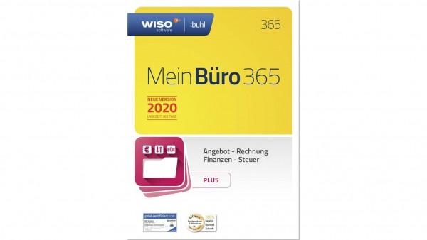 WISO Mein Büro 365 Plus (2020), 1 Jahreslizenz, Vollversion, Box