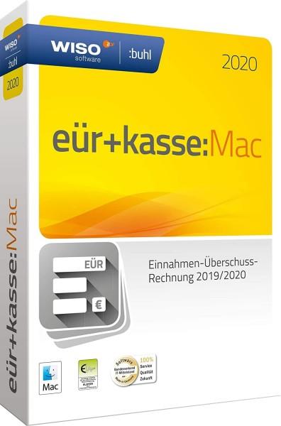 WISO EÜR + Kasse:MAC 2020, für die Geschäftsjahre 2019/2020, Box