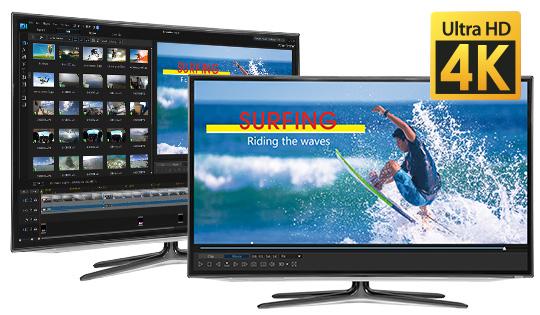 Videovorschau in 4K-Qualität