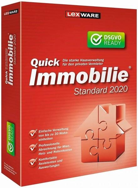 Lexware QuickImmobilie Standard 2020, 30 Wohneinheiten, 365 Tage Version