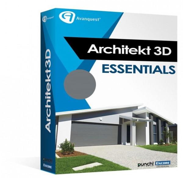 Avanquest Architekt 3D X9 Essentials Win/MAC