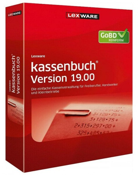 Lexware Kassenbuch 2020 Version 19, 365 Tage Laufzeit, Download