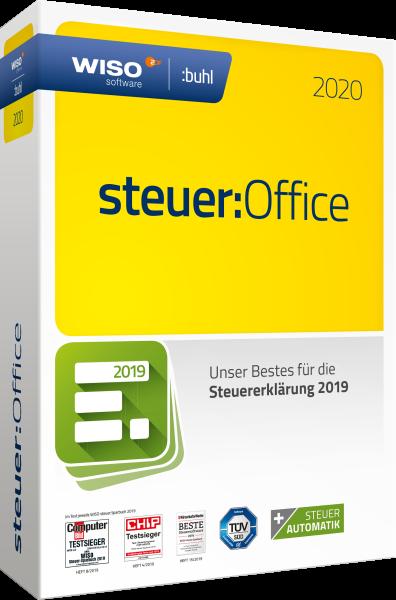 WISO steuer: Office 2020 (für Steuerjahr 2019)