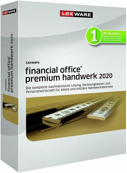 Lexware Financial Office Premium Handwerk 2020, 365 Tage Laufzeit, Download