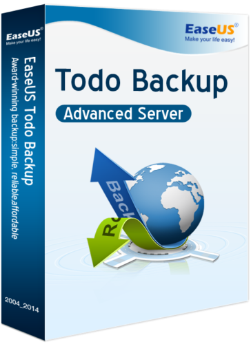 EaseUS Todo Backup Advanced Server 13.2 Vollversion