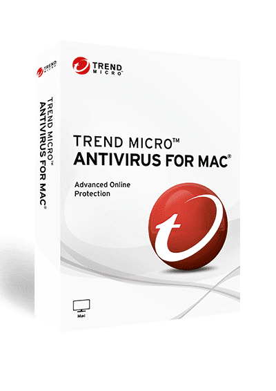 Trend Micro Antivirus for Mac 2020 Vollversion