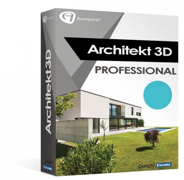 Avanquest Architekt 3D X9 Professional Win/MAC MacOS
