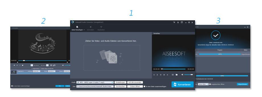 Anleitung von Audio Converter