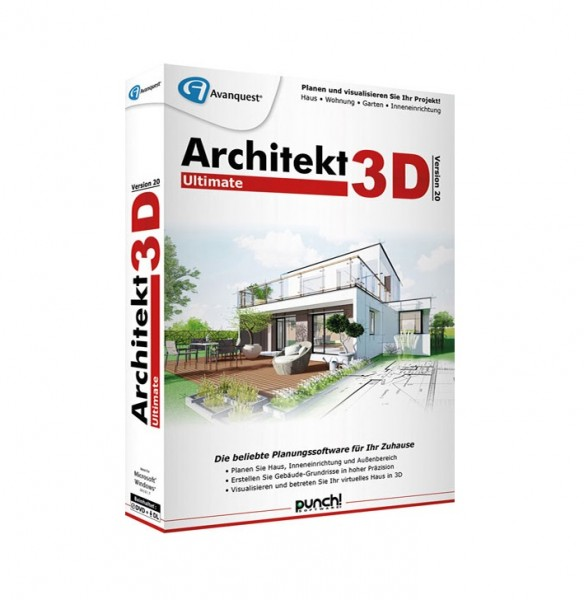Avanquest Architekt 3D 20 Ultimate Windows