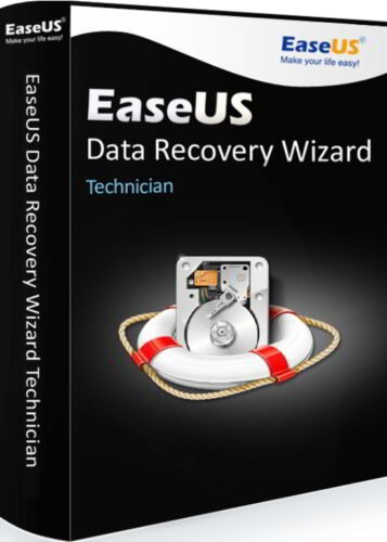 EaseUS Data Recovery Wizard Technican 13.5 Windows Vollversion (Lifetime Upgrades)
