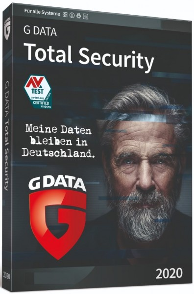 G DATA Total Security Multi Device 2020, 2-3 Jahre, Vollversion