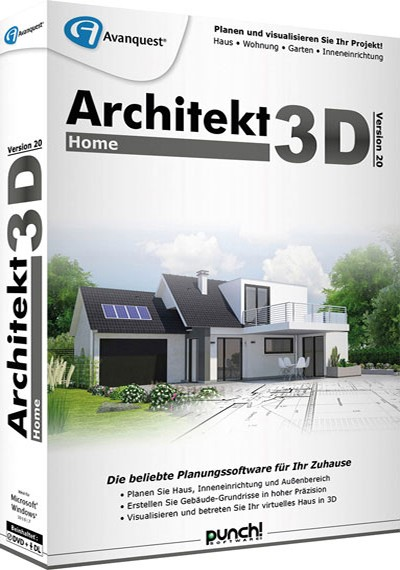 Avanquest Architekt 3D 20 Home