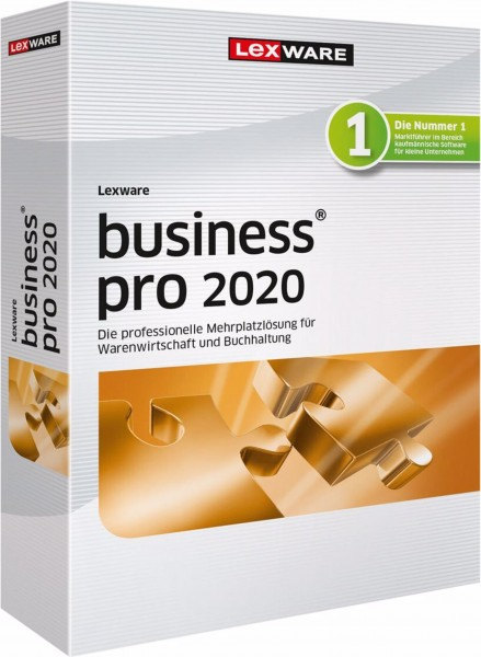Lexware Business Pro 2020, 365 Tage Laufzeit, Download