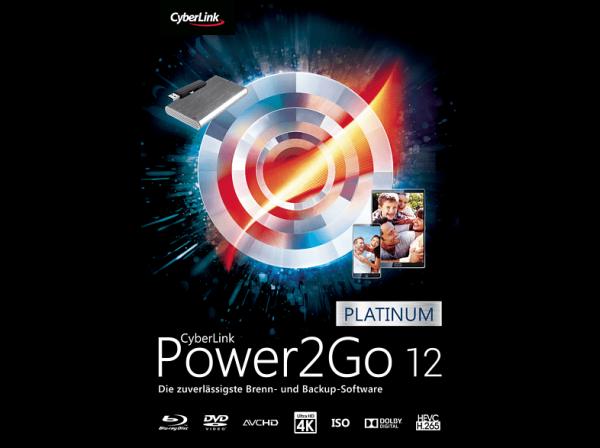 Power2Go 12 Platinum