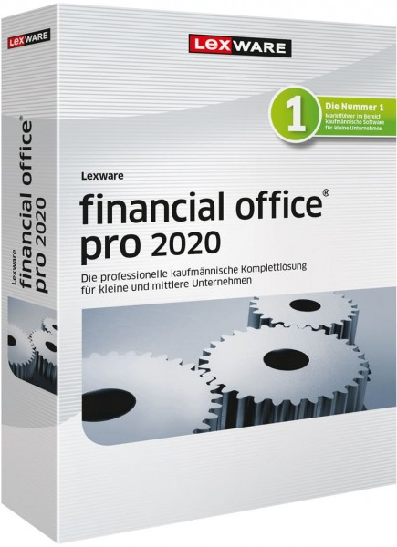 Lexware Financial Office Pro 2020, 365 Tage Laufzeit, Download