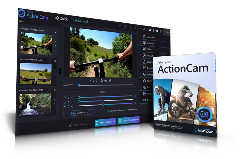 ActionCam Box & Screenshot