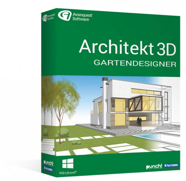 Avanquest Architekt 3D 20 Gartendesigner Windows