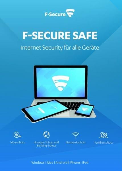 F-Secure Safe Internet Security 2020, Download, Vollversion