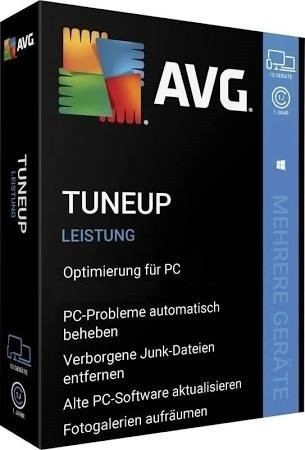 AVG TuneUp 2020 3 PC 1 Jahr Vollversion