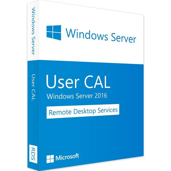 Windows Server 2016 RDS - 10 User CALs