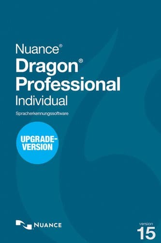 Nuance Dragon Professional Individual 15 Upgrade, Upgrade from DPI 14