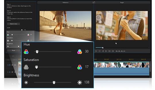 Cool transition effects for your video editing projects.