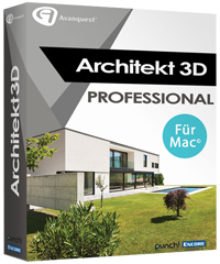 Avanquest Architekt 3D X9 Professional 2017 für MAC