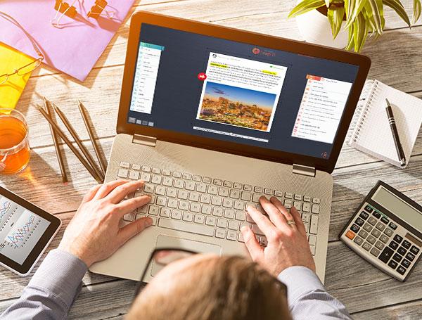 Screenshot laptop organize