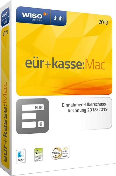 WISO EÜR + Kasse:MAC 2019, für die Geschäftsjahre 2018/2019, Download